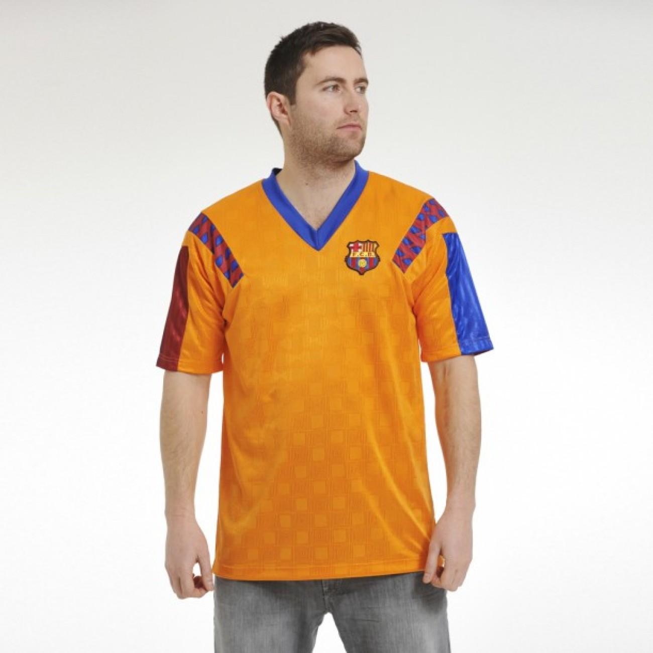 FC Barcelona 1991-92 away Retro Shirt