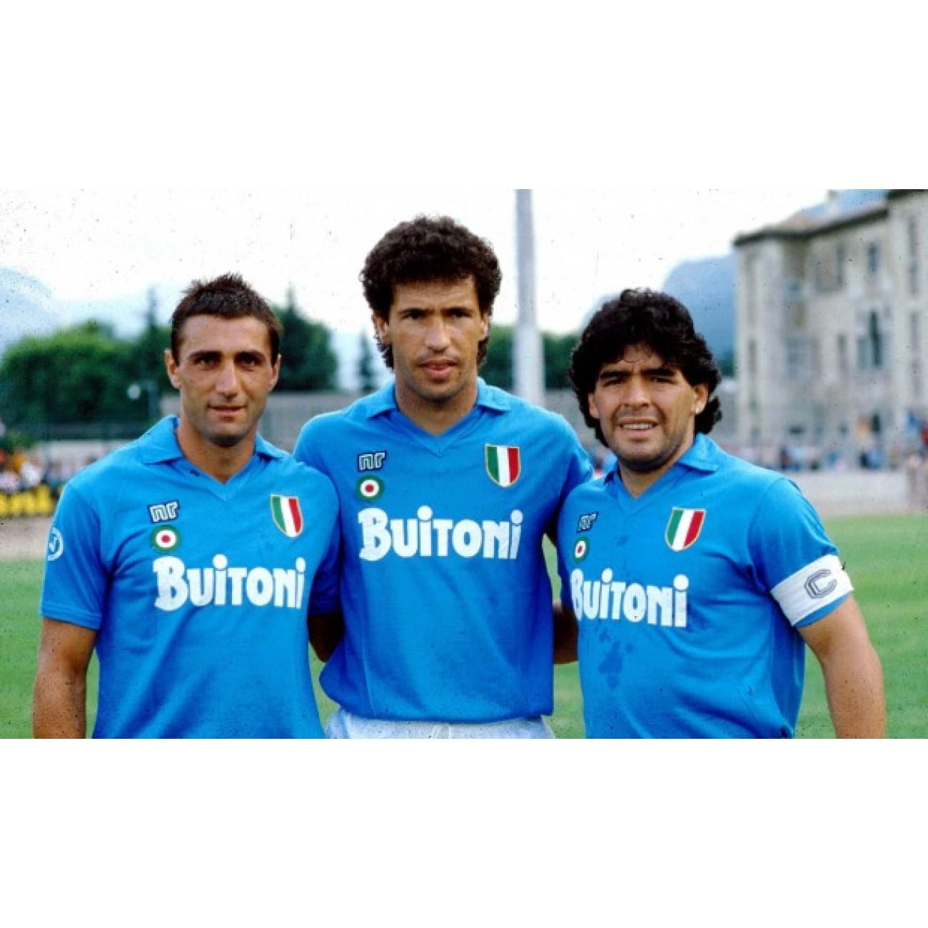 Napoli Maradona retro shirt  5289ad4ef