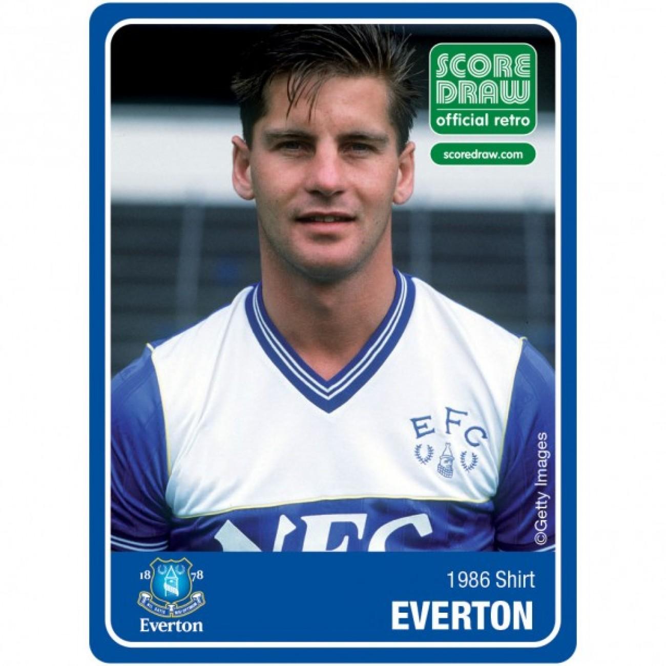 Everton 1986 Retro Shirt