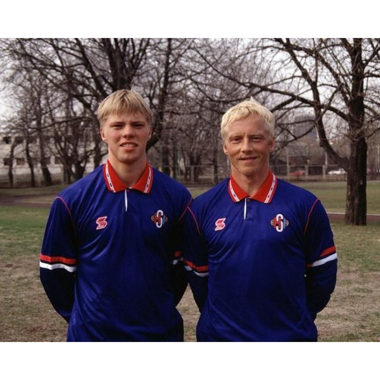 f8303e075ae ... Iceland 1996 Retro Shirt. Father and son Guðjohnsen played in the same  match in 1996