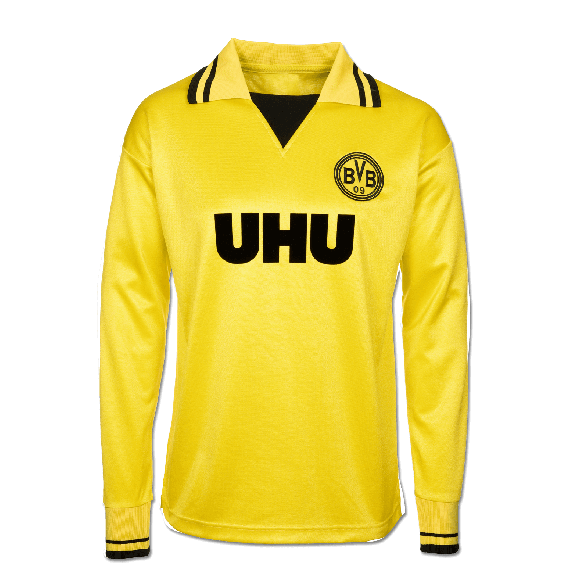 Borussia Dortmund 1980-83 Retro Shirt - Long Sleeve