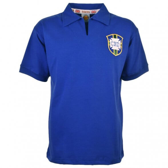 7e3b04310 Brazil Away World Cup 1958 retro shirt - Pele   Retrofootball®