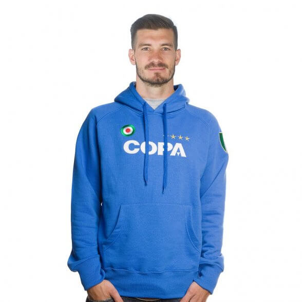 COPA Hooded Sweater   Blue