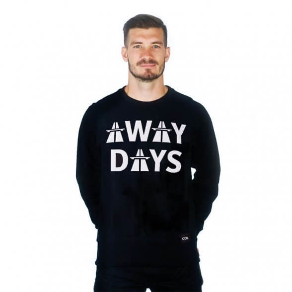 COPA Football Away Days Sweatshirt Schwarz