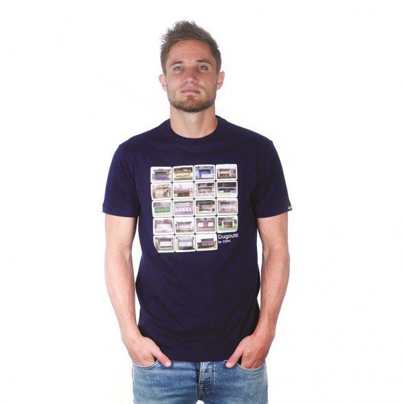 Dugouts T-Shirt   Marine Blue