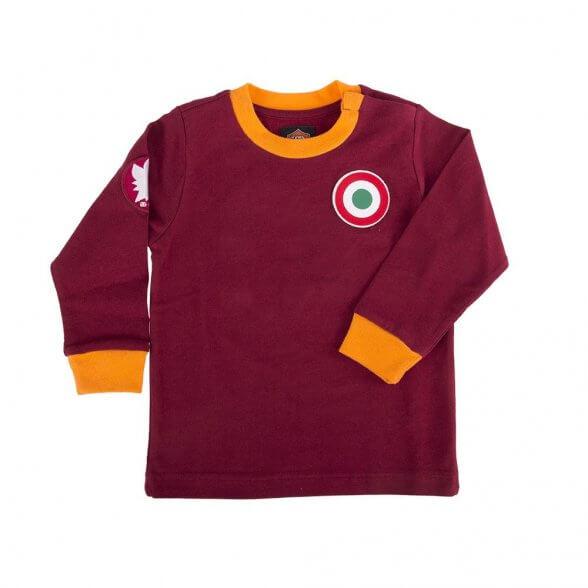 AS Roma Retro Shirt   Kid