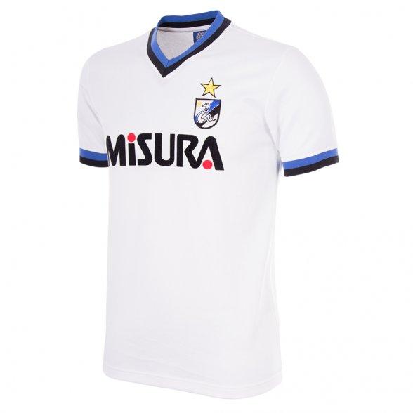 F.C. Internazionale 1986-87 Short Sleeve Retro Football Shirt -Away