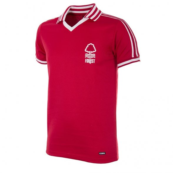 Nottingham Forest 1976/77 Retro Shirt