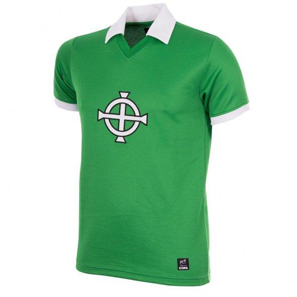 Northern Ireland 1977 Retro Shirt  George Best