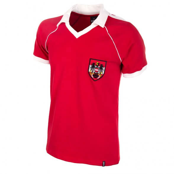 Austria Away WC 1982 Retro Shirt