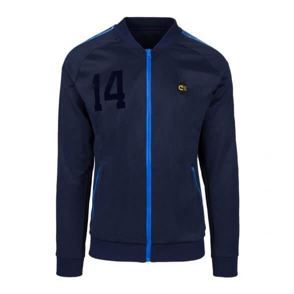 Holland 1974 Retro Jacket    Blue