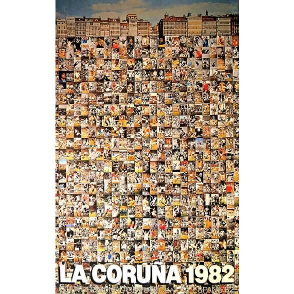 Cartel Oficial de La Coruña - Caleidoscopio de Erró