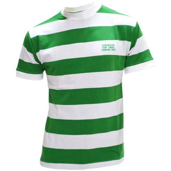 Celtic 1967 European Cup Champions Retro Shirt