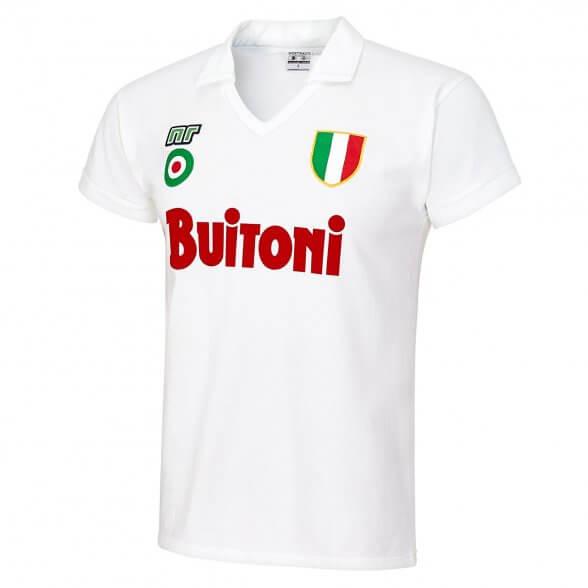 SSC Napoli 1987-88 Retro Shirt   Away
