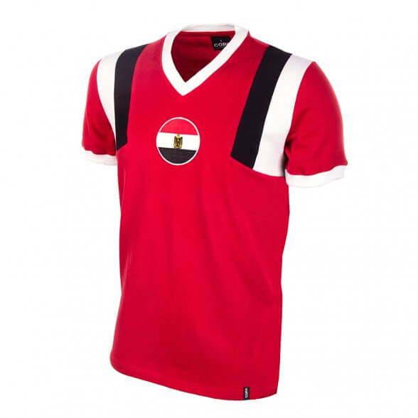 Egypt football team retro Shirt 1980