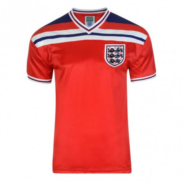 England 1982 Retro Shirt - Away