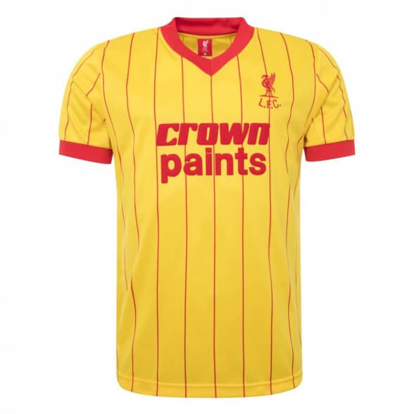 Liverpool Retro Shirt 1981/82   Away