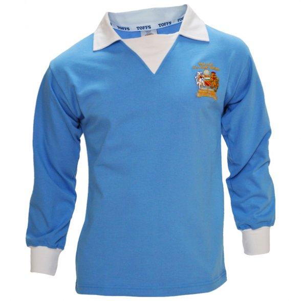 Manchester City 1976 FA Cup Retro Shirt