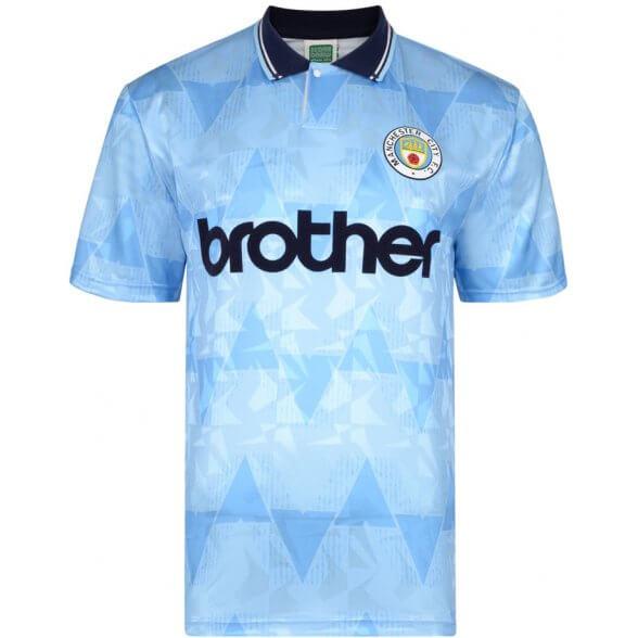 Manchester City 1989-90 Retro Shirt