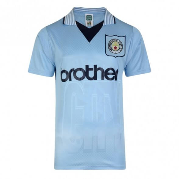 Manchester City 1996 Retro Shirt