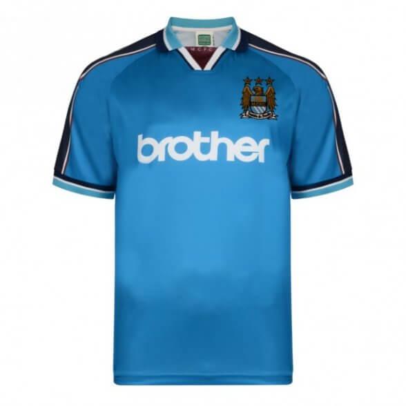 Manchester City 1998 Retro Shirt