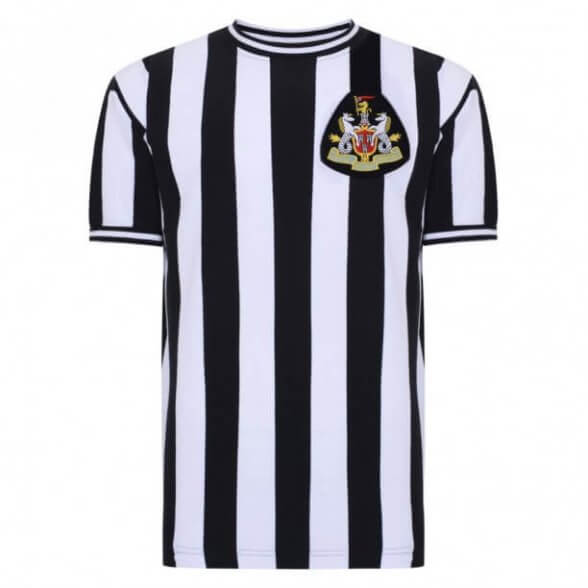 Newcastle United 1970 retro shirt product photo