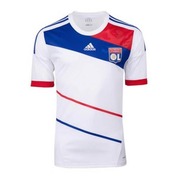 Olympique Lyon jersey 2012-2013