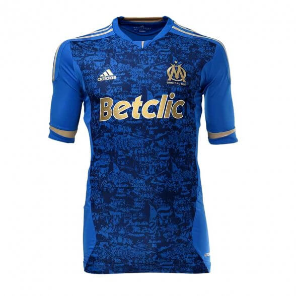 Olympique Marseille jersey 2011-2012 away