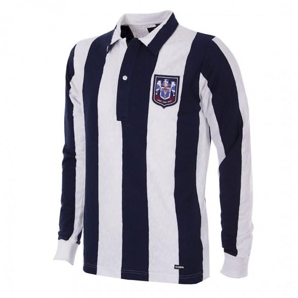 West Bromwich Albion 1953/54 Retro Shirt