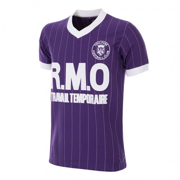 Toulouse FC 1983/84 Retro Football Shirt