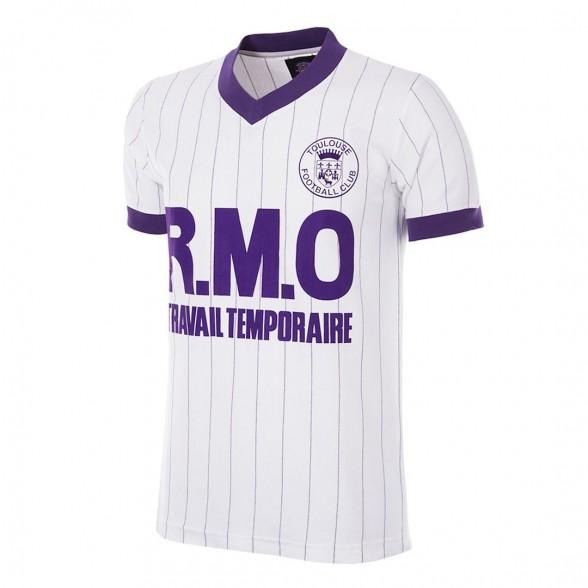 Toulouse FC 1983/84 Retro Football Shirt Away