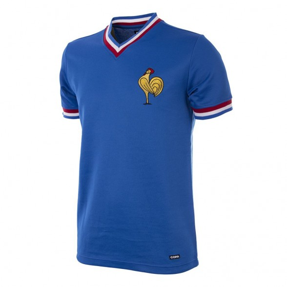 France National Team Retro Football Shirt   Retrofootball® ce4b277515