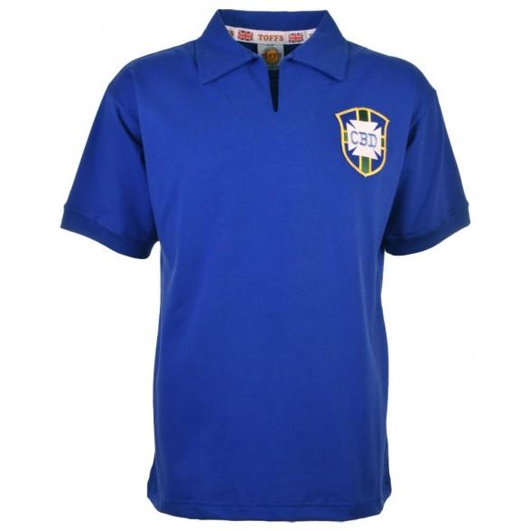 Brazil Away World Cup 1958 Retro Shirt