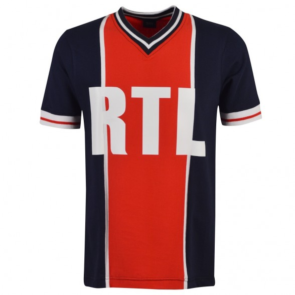 Paris RTL 1976-79 Retro Shirt