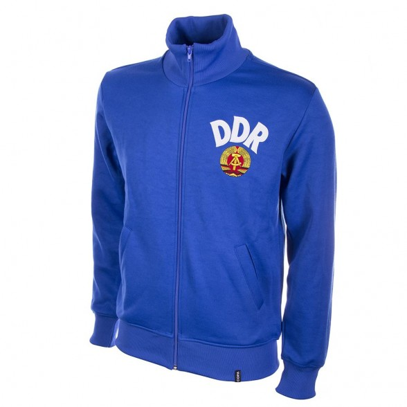 DDR - East Germany classic track top   Retrofootball® bcaea5fbdc