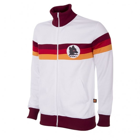 AS Roma 1981 82 Retro Jacket   Retrofootball® 408e0b954f