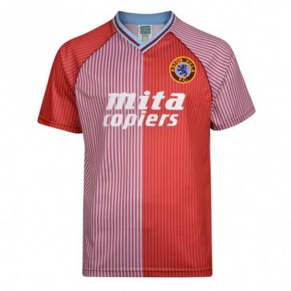 Aston Villa 1987-88 retro shirt product photo