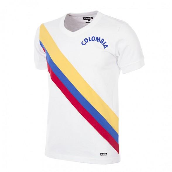 Colombia 1973 Retro Football Shirt