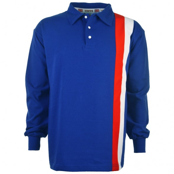 Escape to Victory Blue Retro Shirt