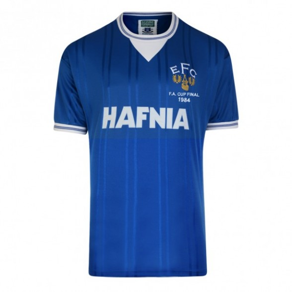 Everton 1984 Retro Shirt