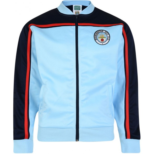 Manchester City 1982 Retro Jacket - RETROJACKETS   Retrofootball® 714979d73e