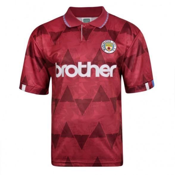 Manchester City 1989 football shirt