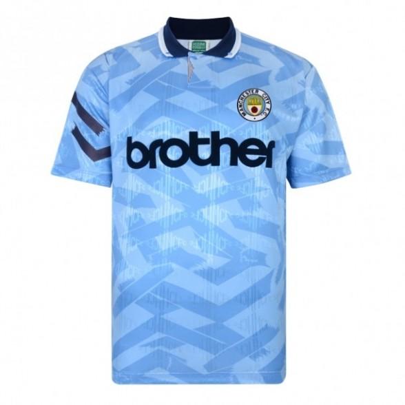 Manchester City 1992 retro shirt product photo