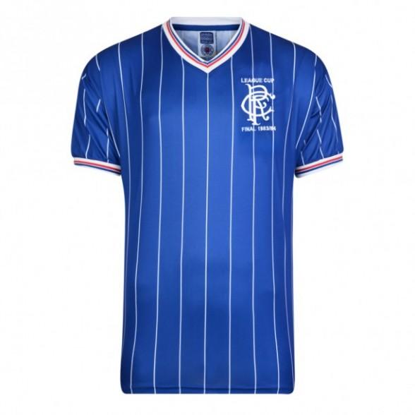 Glasgow Rangers 1984 Retro Shirt