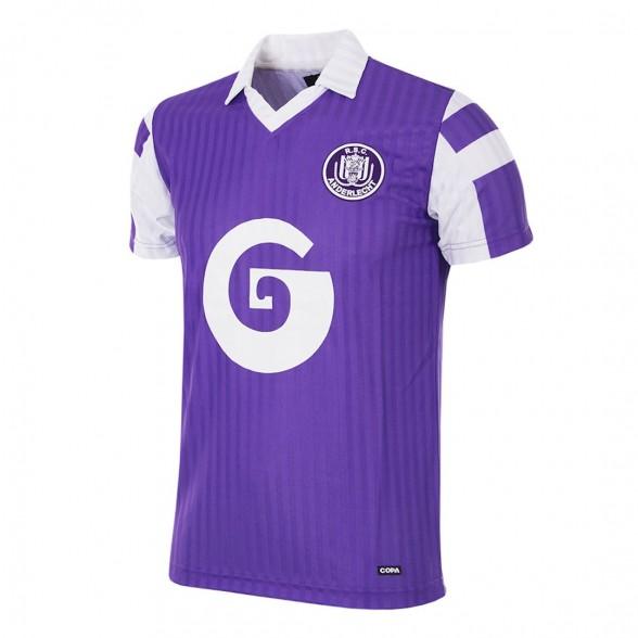 aa564f538 RSC Anderlecht 1990 91 Retro Shirt