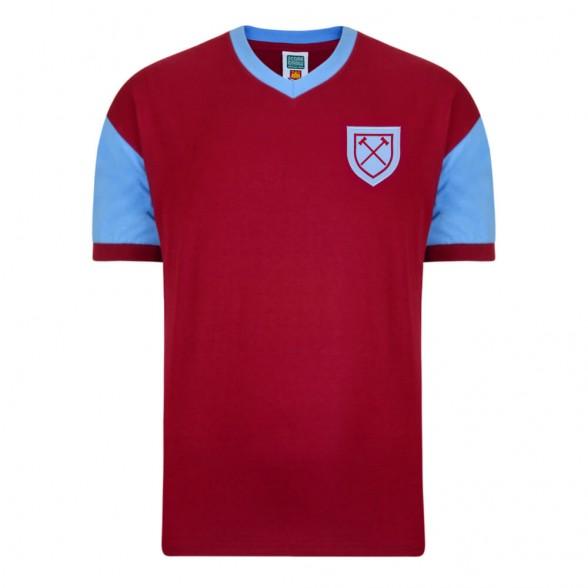 West Ham 1958 football shirt