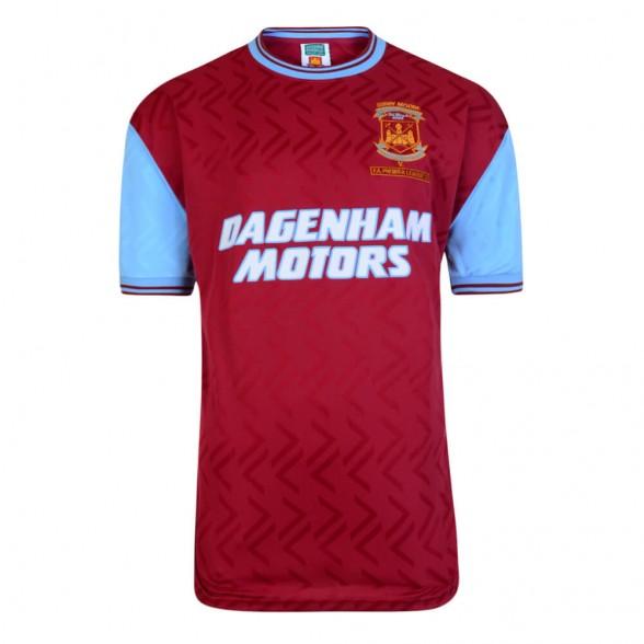 West Ham 1994 football shirt