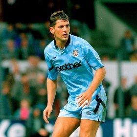 Manchester City 1992 football shirt