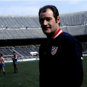 Atletico Madrid retro football Jacket 1969