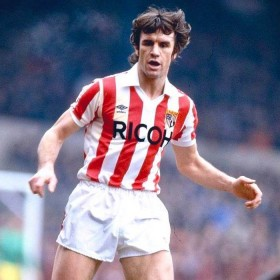 Stoke City FC 1981-83 football shirt